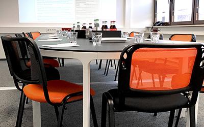 Schulungsraum Impressionen - Raum für Begegnung und konzentriertes Arbeiten